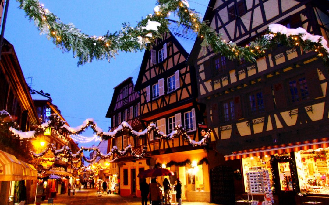 CHRISTMAS SEASON in the Alsace region