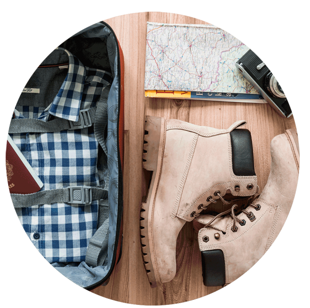 Travelers checklist - what to pack for my trips
